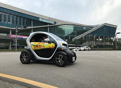 [르노삼성자동차]2017국제환경에너지산업전 르노삼성자동차 전시부스